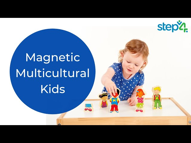 Product Review: Magnetic Multicultural Kids