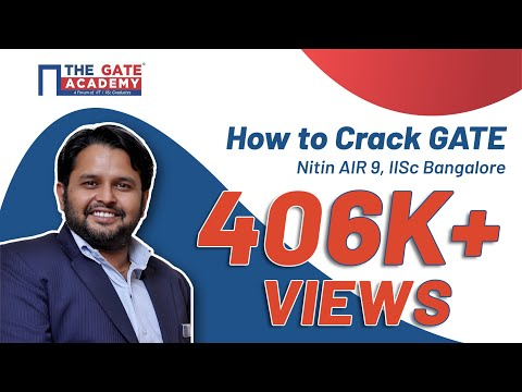 Webinar | How to Crack GATE | Nitin AIR 9, IISc Bangalore