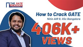 How To Crack Gate Exam By Nitin Air 9, Iisc Bangalore