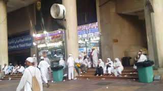 Market outside Masjid Al-Haram sharif-----Hajj 2018 memories