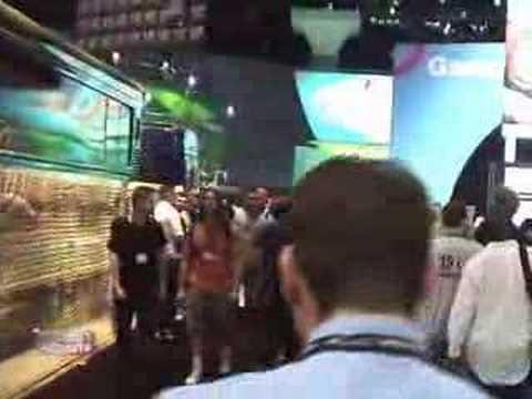 E3 2005 Rockstar Games Booth