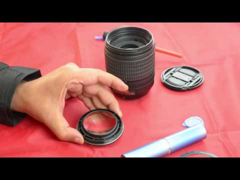 Cleaning Lens Fungus/Fungi of Nikon 18-105mm