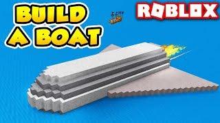 MASSIVE ROCKET SHIP in Build a Boat for Treasure | Roblox