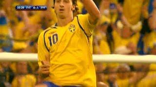 Kolla in Zlatans snyggaste landslagsmål - TV4 Sport