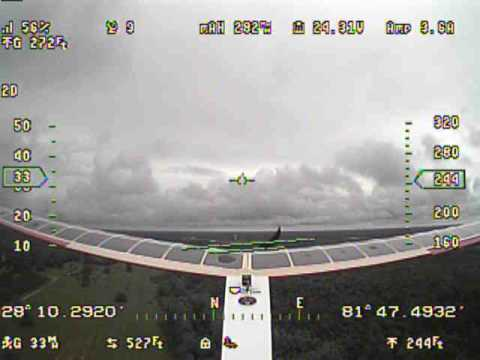 Helios 2 Solar flight number 3 - Cloudy day.