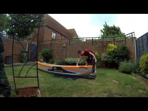 Aqua Marina Tomahawk Kayak - Unboxing Video