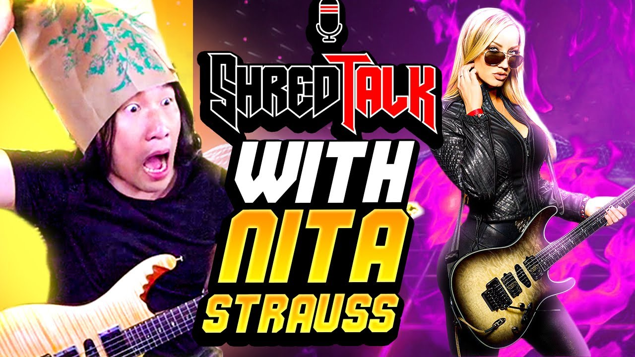 Is She the Best Rock Player Right Now? NITA STRAUSS & HERMAN LI Shred Collab