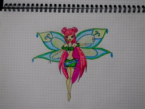 Как нарисовать ФЕЮ ВИНКС #95 /How to draw a FAIRY WINX