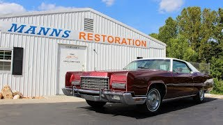 1973 Lincoln Continental 460 V8 - Manns Restoration