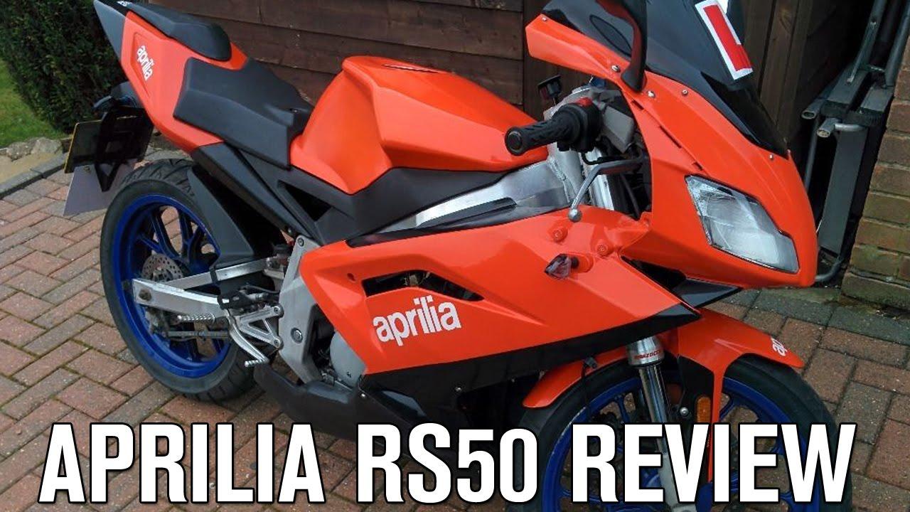 Aprilia RS50 Review - Best Learner Legal Motorbike (Geared ...