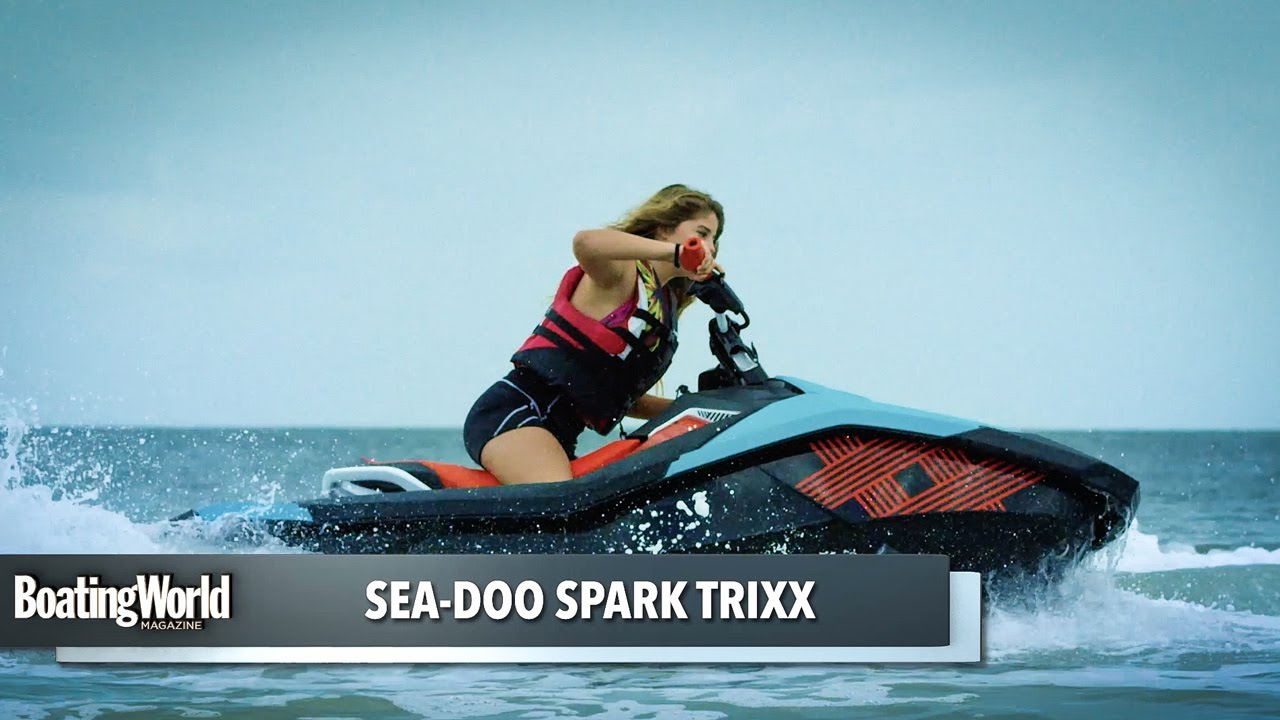 sea doo spark trixx pwc test youtube. Black Bedroom Furniture Sets. Home Design Ideas