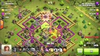 Tipos de ataque 100% Mega - Clash of Clans