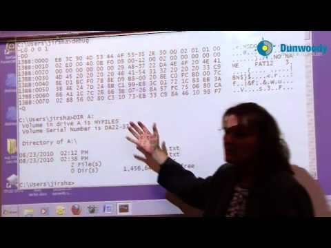 File Systems - Fat12 Boot Sector and Directory Table - Part 2 (Sharon Jirak)