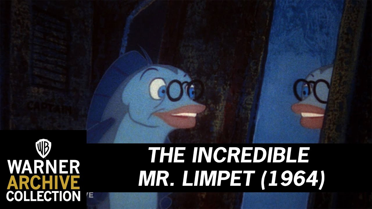 The Incredible Mr Limpet 1964 I M A Fish Youtube