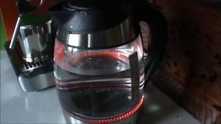 Электрический чайник REDMOND RK-G184D/ Обзор
