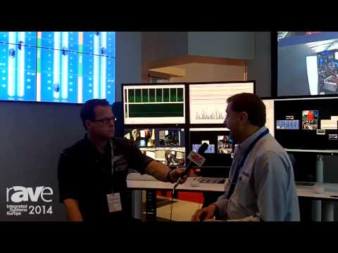 ISE 2014: Gary Kayye Gets a Demo of Hiperwall's Control and Command Software at NEC Display