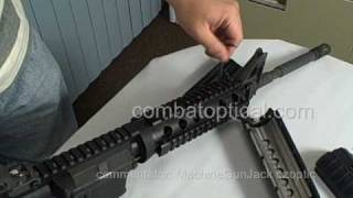 AR15/M4 2pcs QUAD RAIL FORARM HAND GUARD INSTALLATION INSTRUCTION
