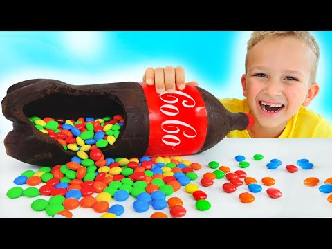 Vlad and Niki Chocolate & Soda Challenge and more funny stories for kids