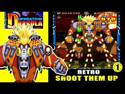 Operation Dracula : Insane Retro Shoot Them Up - Stage 1 (ios Gameplay)