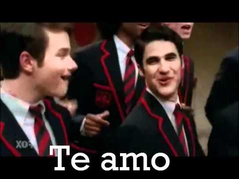 Silly Love Songs - the warblers (glee) en español Performance