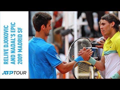 Relive Novak Djokovic & Rafael Nadal's Epic 2009 Madrid Semi-final