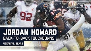 Bears Offense Scores Back-to-Back TDs in a Winter Wonderland! | 49ers vs. Bears | NFL