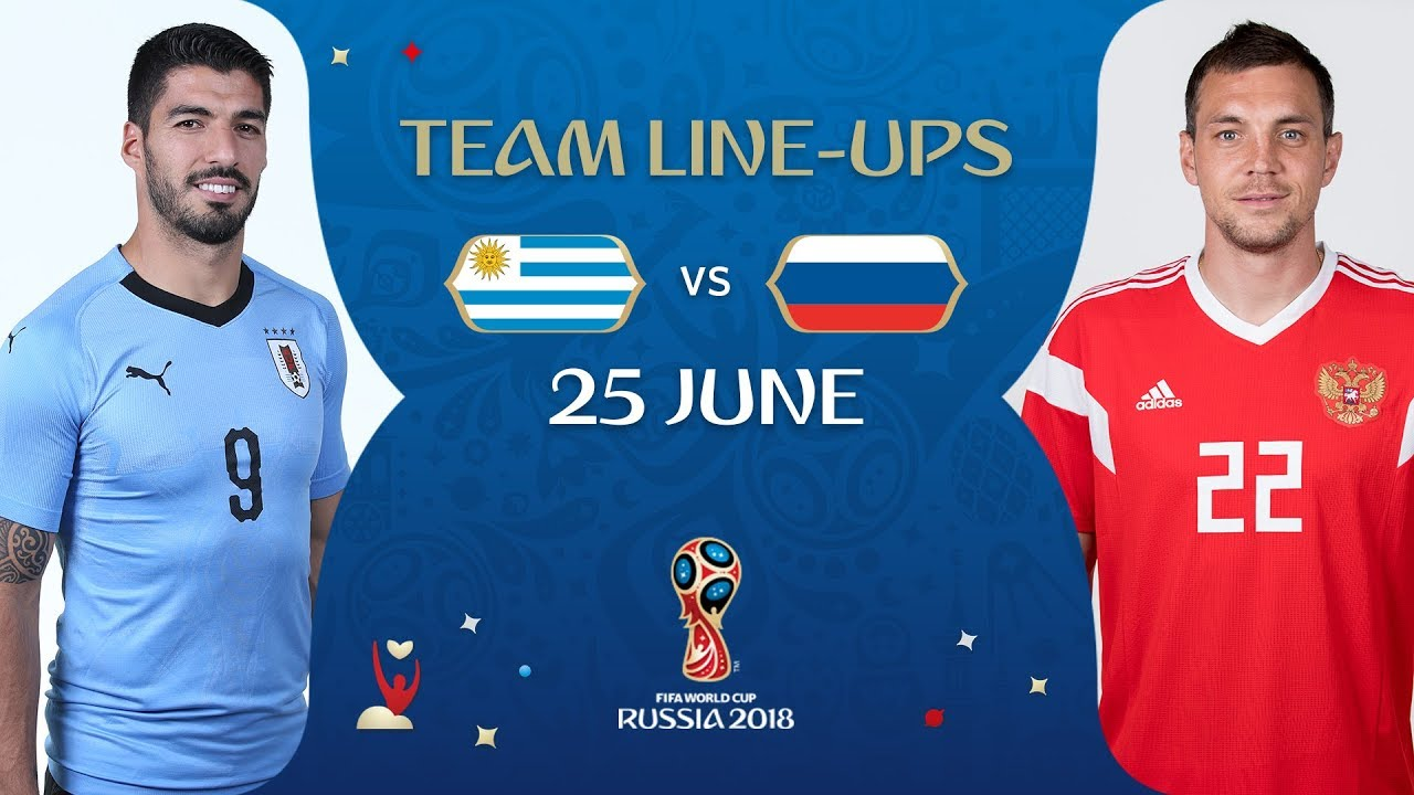 Match Russia - Uruguay 2018 33