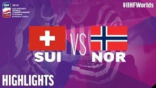 Switzerland vs. Norway - Game Highlights - #IIHFWorlds 2019
