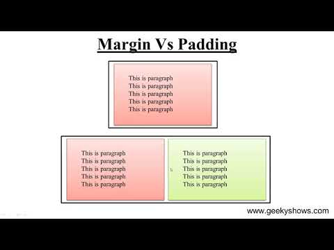 Difference Between Margin And Padding In CSS (Hindi)