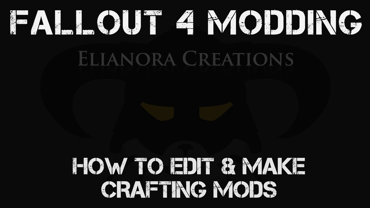 Fallout 4 Modding How To Edit And Make Crafting Mods In Fo4edit Youtube I can't seem to get but just half of my mods loaded at one time. fallout 4 modding how to edit and make crafting mods in fo4edit