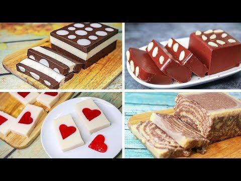 4 Easy No Bake Pudding Dessert Recipe | Agar Agar Pudding | Eggless Dessert Idea | Yummy