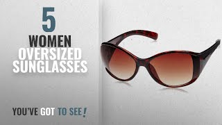 Top 10 Women Oversized Sunglasses [2018]: Fastrack Oversized Unisex Sunglasses - (P153BR1F|Brown