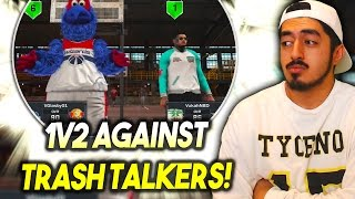 1v2 AGAINST TRASH TALKERS AND DOWN BIG! CAN I MAKE A COMEBACK?