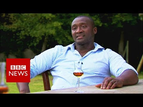 Former Premier League footballer Tébily on becoming a Cognac maker - BBC News