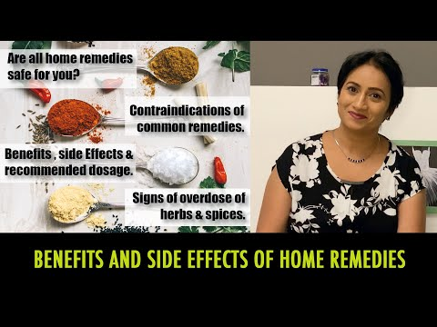Home Remedies Benefits & Side Effects | How Much Turmeric Is Too Much | Herbs Side Effects