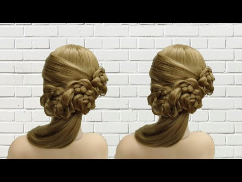 Bridal Hairstyles Long Hair – Cute Easy Wedding Hairstyles | Braid Hairstyles 2019