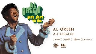 Al Green - All Because (Official Audio)