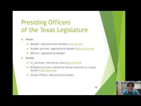 Week 6 TX Legislature