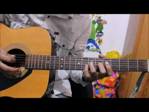 Neele Neele Ambar Par Chand Jab Aaye - TABS / LEADS guitar lesson hindi easy beginners