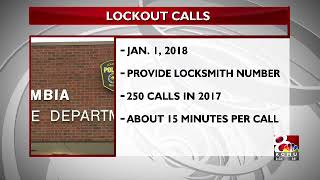 Police will stop responding to lockouts in 2018