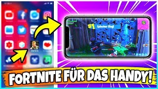 FORTNITE FOR HANDY FREE! ✅ SO goes! (iOS + Android) Guide! 🔥