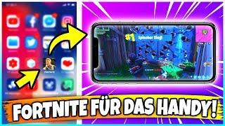 FORTNITE FÜR HANDY KOSTENLOS BEKOMMEN! ✅ SO gehts! (iOS + Android) Anleitung! 🔥