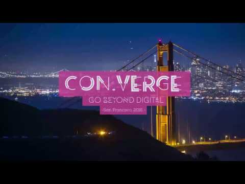 Converge 2016 - Fireside Chat: Transforming Big Data into Personalized Experiences