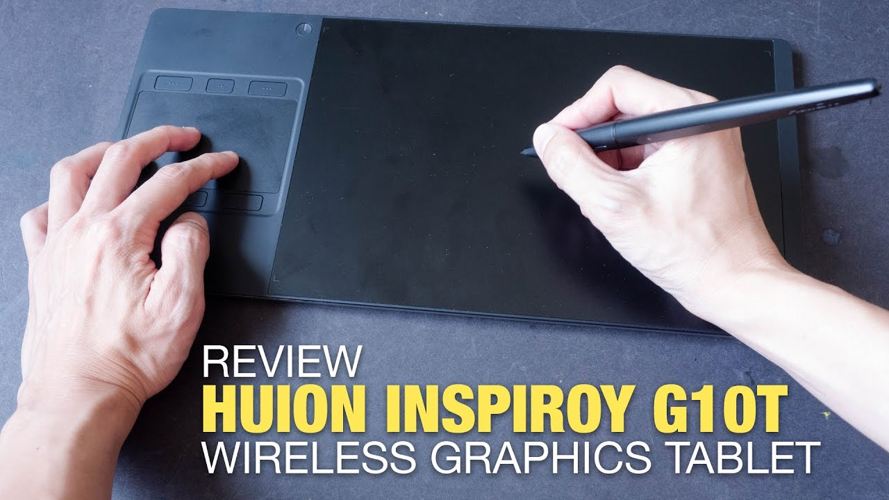 Review: Huion Inspiroy G10T Wireless Graphics Tablet (1st gen)