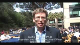 Dr. Curtis Carlson, President & CEO SRI International at ITSEF