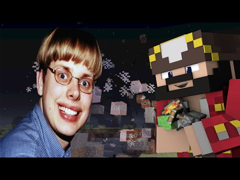 Weird Noob Trolled on Minecraft (Minecraft Trolling & Griefing)