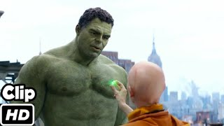 """Time Stone Scene in Hindi """"Hulk Meets the Ancient One"""" Avengers Endgame   Movie Clip HD"""