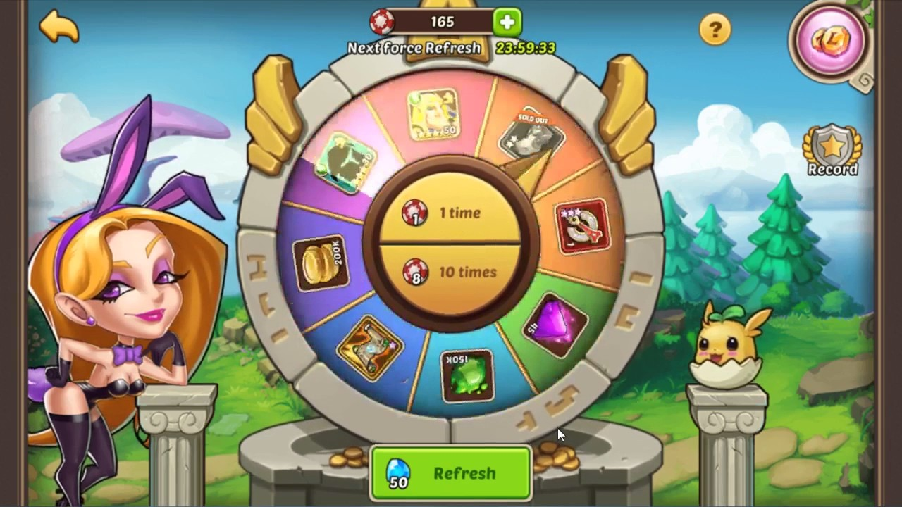 idle heroes super casino without vip