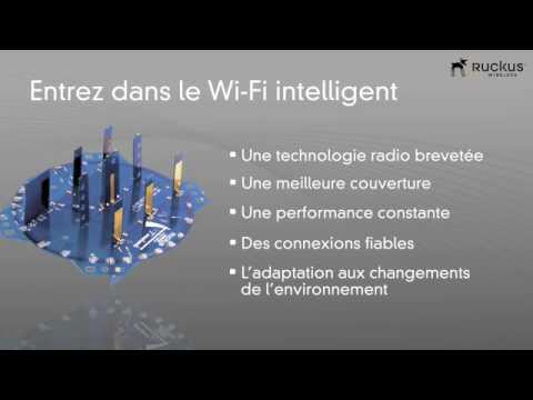 Présentation Ruckus Wireless Connect Data - WiFi