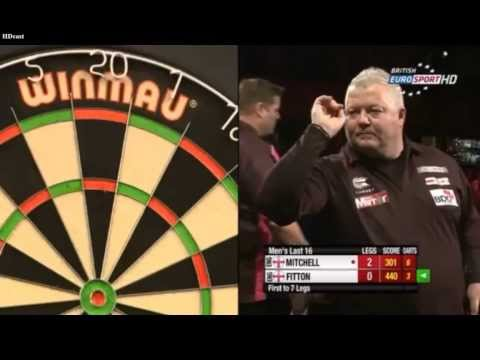 BDO World Trophy 2014 - Men's Last 16 - Scott Mitchell vs. Darryl Fitton